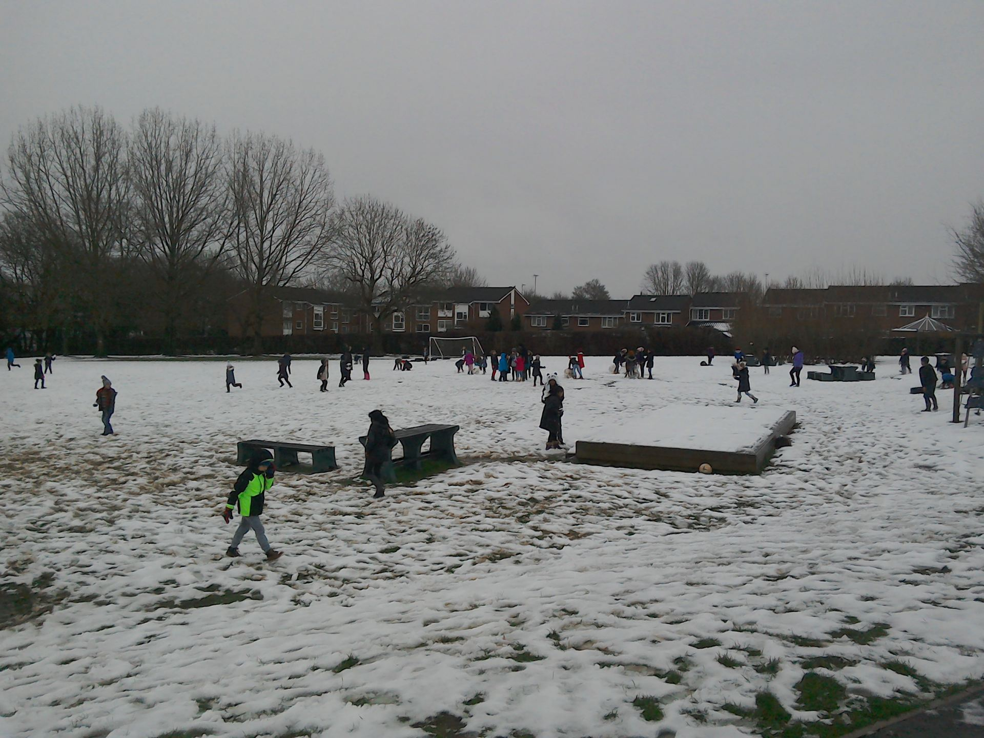 Image result for brockswood school snow